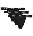 Cover Male 100% Cotton Logo Thong - 3 Pack 701