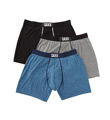 Saxx Apparel Super Soft Ultra Fly Front Boxer Brief - 3 Pack SXPP3HS