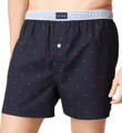 Tommy Hilfiger Tommy Star Basic 100% Cotton Woven Boxer 09T0013