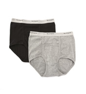 Munsingwear Comfort Pouch Cotton Full Rise Brief - 2 Pack MW21A